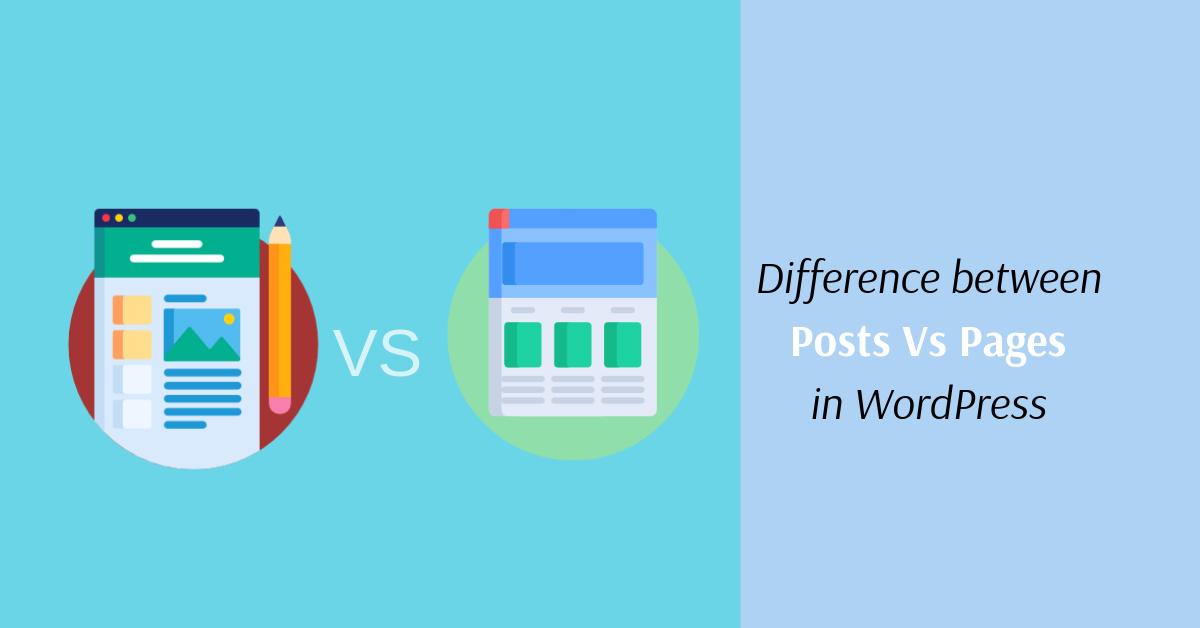 Difference Between Posts vs Pages in WordPress