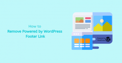How to Remove Powered by WordPress Footer Link
