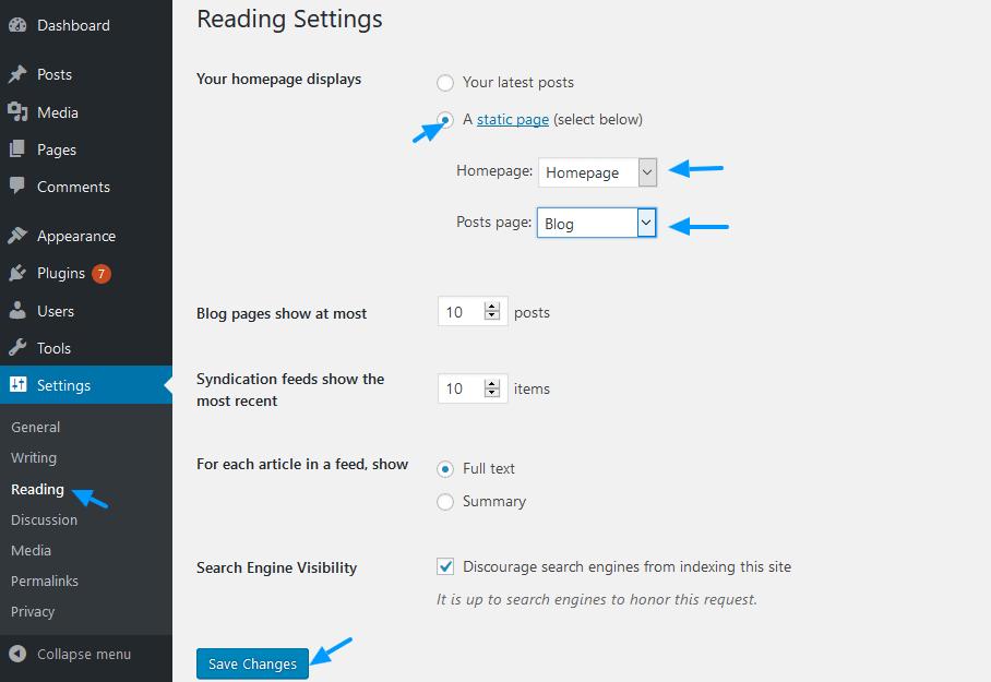 reading-settings