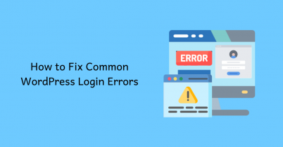 How to Fix Common WordPress Login Errors