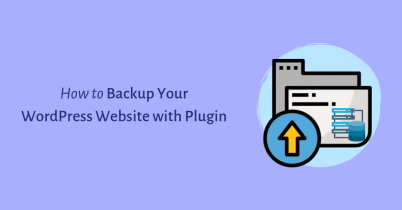 How to Backup Your WordPress Website with Plugin