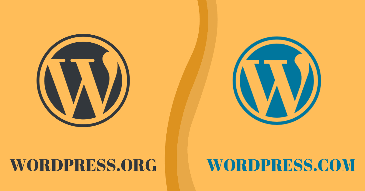 WORDPRESS.ORG vs WORDPRESS.COM - WHAT'S THE DIFFERENCE