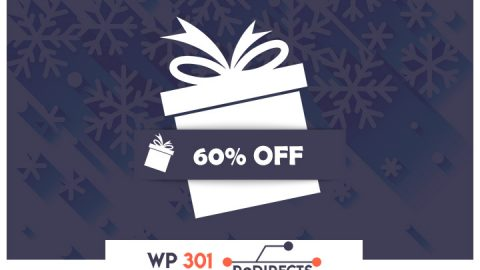 WP 301 Redirects - XMAS 60% off