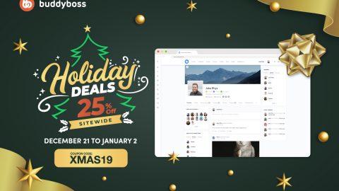 BuddyBoss - XMAS 25% OFF