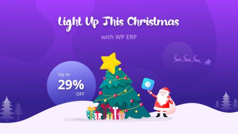 WP ERP - XMAS 29% OFF