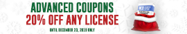 Advanced Coupons - XMAS 20% OFF