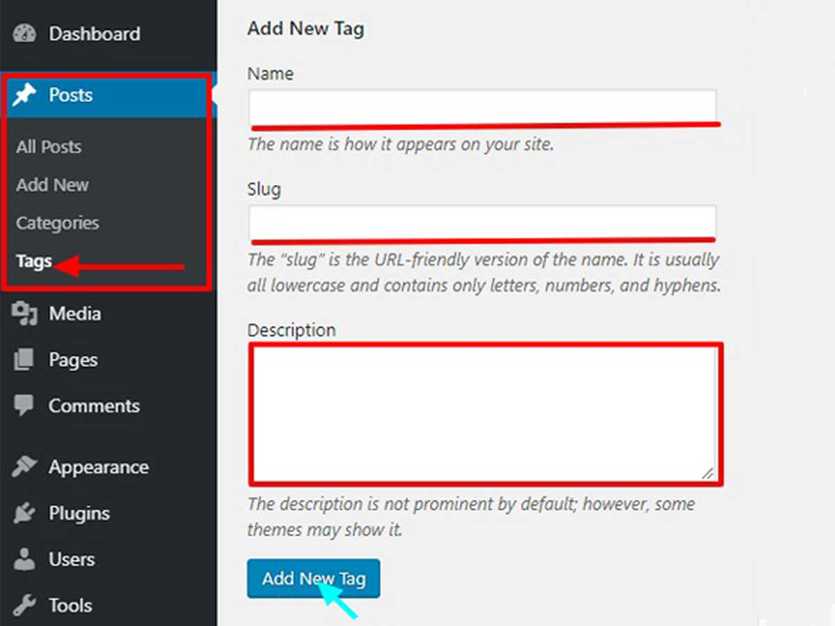 add-tags-in-WordPress