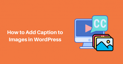 Beginner's Guide – How to Add Caption to Images in WordPress