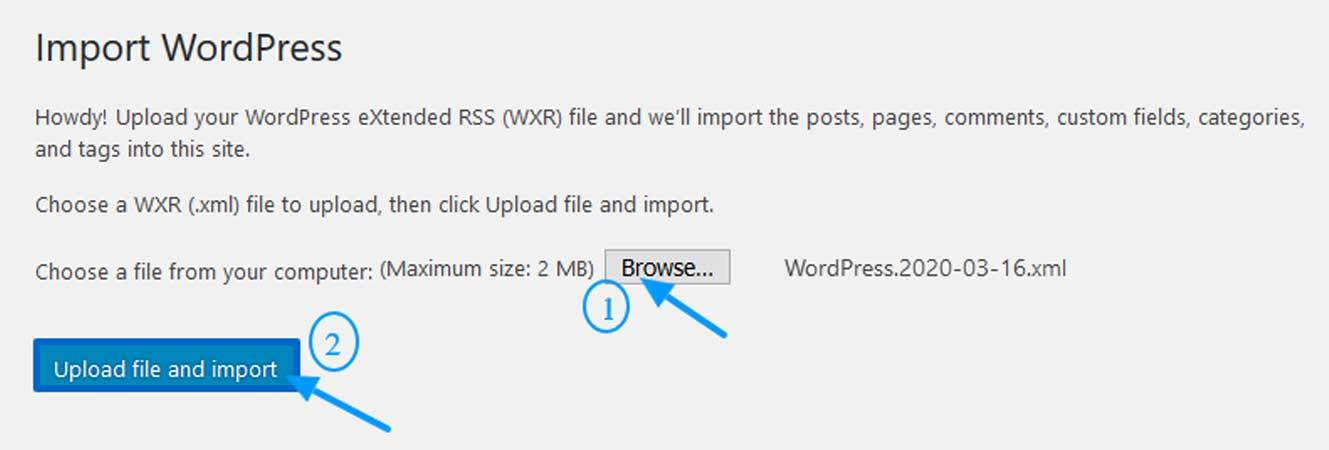 Upload-XML-file