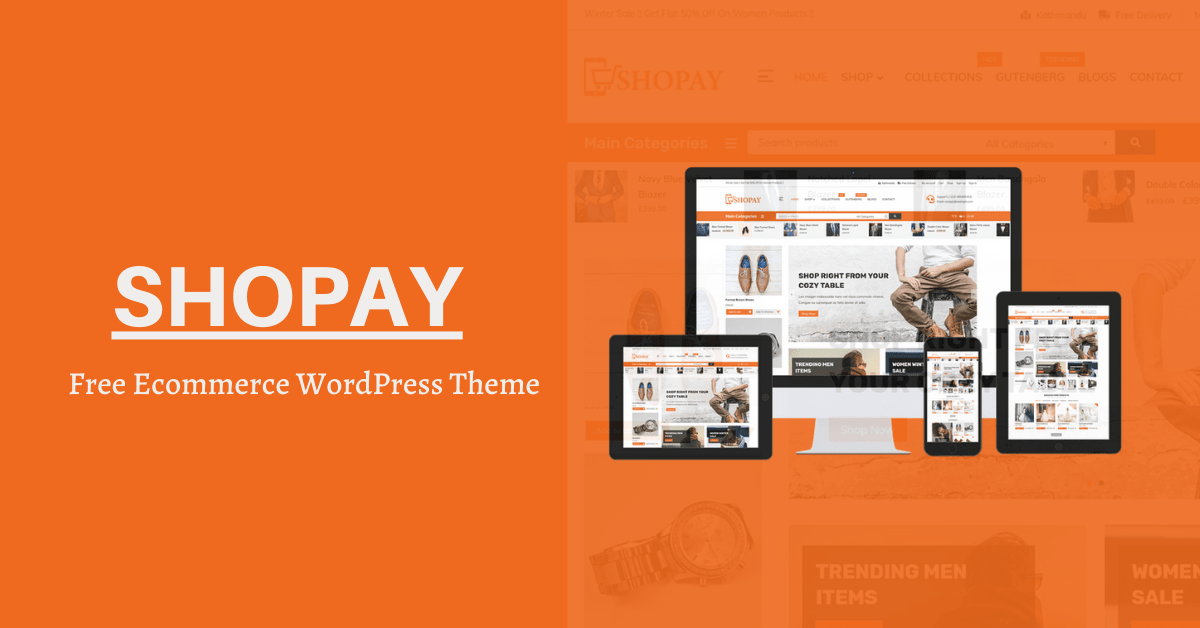 Shopay – Free ECommerce WordPress Theme Review