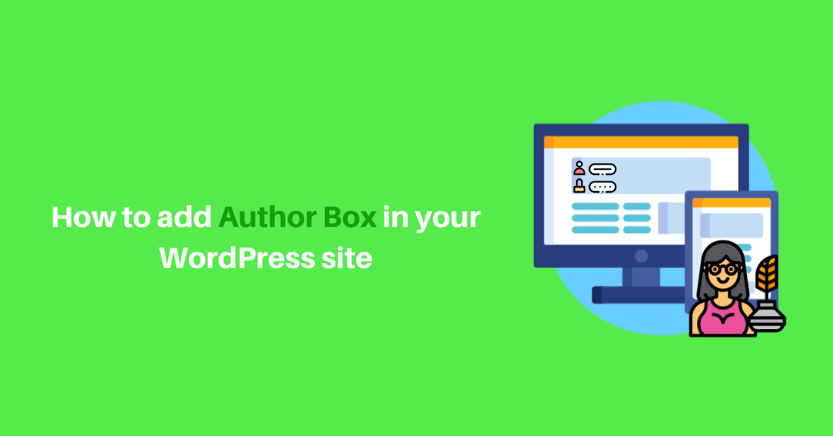 How to add Author Box in your WordPress site