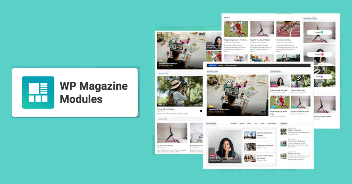 How To Create Layouts in WordPress WP Magazine Modules Plugin Review
