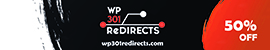 WP 301 Redirects - 50% OFF