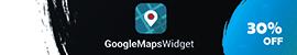 Google Maps Widget - 30% OFF